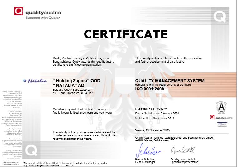 Quality-Austria-sertifacate